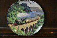 """ROYAL DOULTON Lovely """"Over the Viaduct"""" Sunshine & Steam Picture Plate - 24cm"""