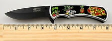 """Rat Fink Limited Edition Spring Assisted Knife 4.5"""" when closed with clip"""