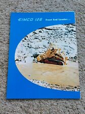 1961 Eimco 126 front end loader, original sales literature.