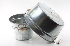 belle Baignoire Aluminium Baignoire zinc Cache-pot Bac à plantes Repro Seau