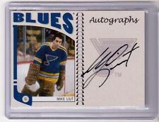 MIKE LIUT 04/05 ITG Franchises Auto Autograph #A-ML Hard-Signed St Louis Blues