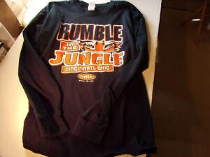 Discount! Men's Rumble in the Jungle Bengals NFL Long Sleeve Shirt - L - New