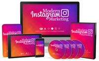 Modern Instagram Marketing- Videos on 1 CD