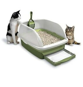 Purina Tidy Cats Hooded Litter Box System, BREEZE Hooded System Starter Kit