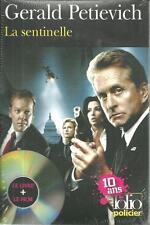 POLICIER / LA SENTINELLE - G. PETIEVICH - LIVRE + DVD - FOLIO - M. DOUGLAS