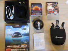 Deeper Smart Sonar Pro + Plus Wifi GPS Echolot zum Werfen Nightcover Handyhalter
