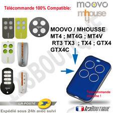 TELECOMMANDE COMPATIBLE MHOUSE MOOVO GTX4 MT4 MT4G MT4V TX4 GTX4C RT3 PORTAIL