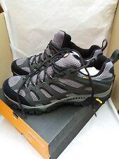 Merrell Moab Mid Hombre Negro Gore-Tex Impermeable Caminar Senderismo Zapatos Uk Size 9.5