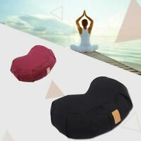 Buckwheat Meniscus Yoga Meditation Pillow Cushion Shoulder Upside Down Fitness