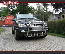 MERCEDES ML W163 FL 2002-2005 alta BULL BAR, spingere bar, un bar/acciaio inox