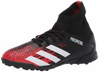 adidas Kids' Predator 20.3 Turf Soccer Shoe, Black, Size 4.5 fv2x