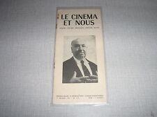 LE CINEMA ET NOUS 118 (17/2/61) hitchcock