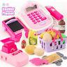 Supermarket Cashier Playset Register Toy Xmas Gift Set Child Girl Shop Role Play