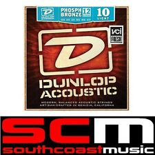 Dunlop DTP10 Acoustic 12 String Set 10 to 47 Phosphor Bronze Light Strings