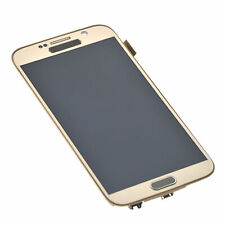 Per Samsung Galaxy S6 Display LCD Touch Screen Digitizer di ricambio con cornice