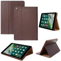 Luxury SmartCover für Apple iPad Air 2 Schutzhülle Tasche Tablet Case Etui braun
