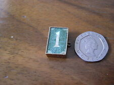 Vintage 9ct Gold Old One Pound Note Charm London 1961.