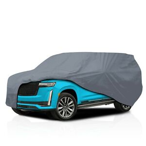 [CSC] Waterproof 5 Layer Full SUV Car Cover for Cadillac Escalade ESV 2013-2021