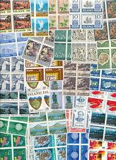 Iceland 100 Different Blocks of 4 MNH.