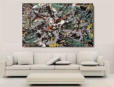 Jackson Pollock - Green Silver