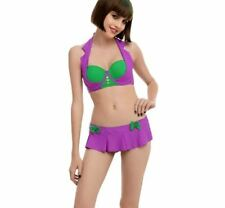 SEXY HALLOWEEN COSPLAY WOMENS HOT TOPIC 2XL JOKER SWIM BOTTOM LINGERIE COSTUME