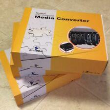 Media Converter; EtherWAN Gigabit Fast Ethernet Media Converter