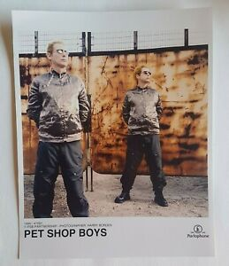 PET SHOP BOYS ♦ X-RARE 1999 PARLOPHONE ORIGINAL KODAK PRO PICTURE ! ♦ NYCB