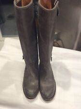 """HERMES """"Land"""" Leather Riding Boots"""