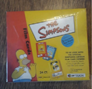 THE SIMPSONS FILM CARDS TRADING CARD BOX (SEALED)