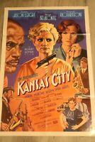 1996 Kansas City Double Sided! Robert Altman Movie Poster 27 X 40 USA