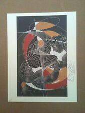 "HANS ERNI ( UNITED NATIONS ) WFUNA ART GRAPHIC - 1993 - ""PEACE"""