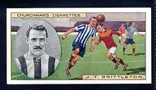 Sport: Football Collectable Churchman Cigarette Cards
