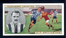 Sport: Football Collectable Churchman Cigarette Cards