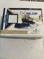 2010-11 Panini all goalies game worn stopper sweaters you pick