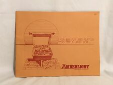 Vintage Amberlight Outdoor Gas Grills And Accessories Grilling Guide And Recipes