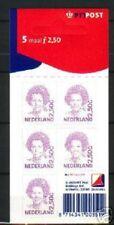 Nederland NVPH 1499b Vel Beatrix Inversie 2001 Zelfklevend Postfris