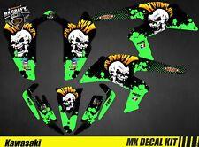 Kit Déco Quad / Atv Decal Kit Kawasaki KFX 450 R - Punk Skull