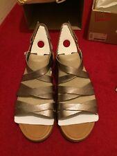 Fitflops Lumy Leather Sandal Bronze Size 7 Brand New Unworn
