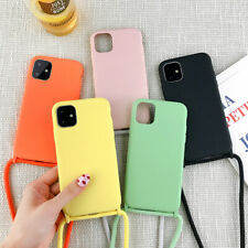 Lanyard Neck Strap String Phone Cover Case For iPhone 11 Pro Max 7 8 6 X XS XR