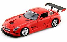 MERCEDES SLS AMG GT3 1:24 Car Metal Model Die Cast Miniature Models