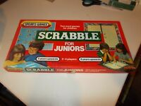 Spears Games Scrabble For Juniors 1983 Vintage