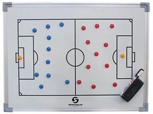 Taktitafel Fußball inkl. Zubehör und Tasche   Coachboard   Stabiler Alu-Rahmen