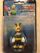 "Super Mario Galaxy 2"" Mini Figure Bee Luigi Figurine Nintendo"