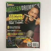 Modern Drummer Magazine December 2006 Stephen Perkins & Jeff Hamilton Jazz Man