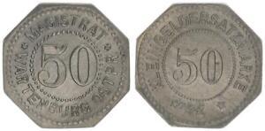 Wartenburg, 50 Pfennig vz+ 52595