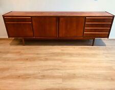 Parker lip sideboard 2.4m 1960s teak retro buffet restored mcm