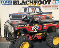 Vintage Tamiya Blackfoot 🐾 RC Ford F150 Ranger And Extra Parts Free Shipping 😀