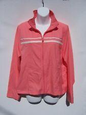 Contact New York Women's Peach Orange Long Sleeve Lightweight Jacket Size Large