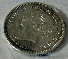 Canada 1881H Obv 2  10 Cents Variety  Queen Victoria Scarce Date Type Set