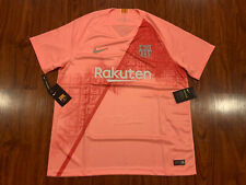 2018-19 Nike Breathe FC Barcelona Men's Third Soccer Jersey XL Extra Large Barca